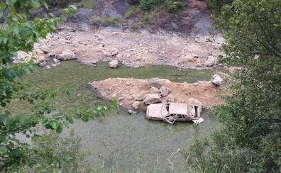 El pozo Ostión de La Arboleda, con los niveles de agua más bajos