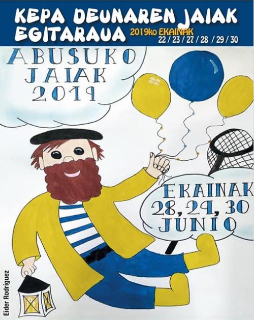Programa de fiestas de Arrigorriaga 2019: Abusuko Jaiak
