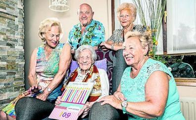 ¿Cómo llegar a los 109 años? Leonor lo desvela el día de su cumpleaños en Vitoria