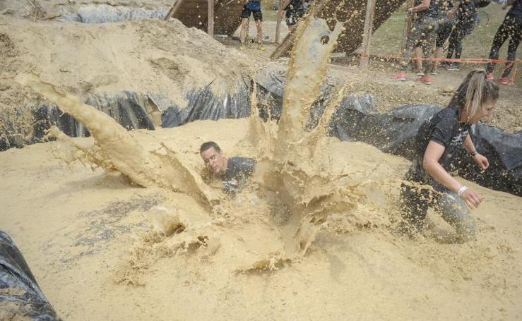 Las mejores fotos del 'Desafío guerrero', en Getxo
