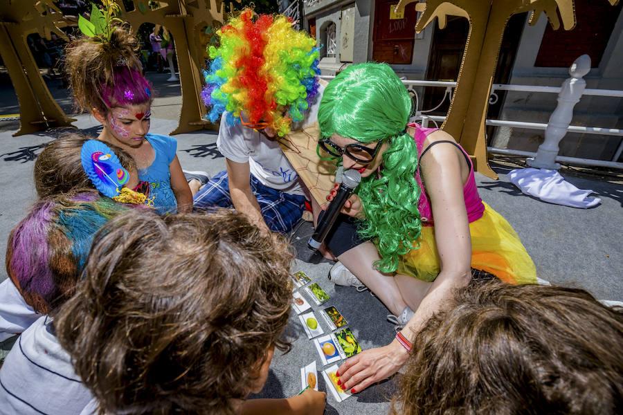 La fiesta 'Árboles vitales' se despide en La Florida tras cinco paradas en la provincia