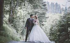 Una boda bilbaína de alfombra roja y una novia de película