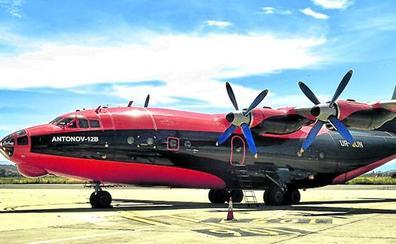 Los cargueros Antonov toman la pista de Foronda