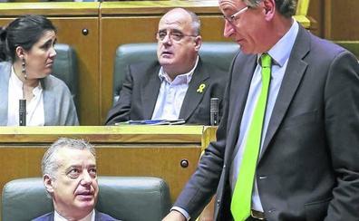 El Gobierno vasco sólo contempla sacar adelante los Presupuestos con el apoyo del PP