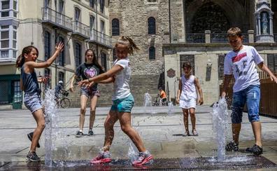 Un junio de contrastes deja tres récords de temperaturas en este siglo en Álava