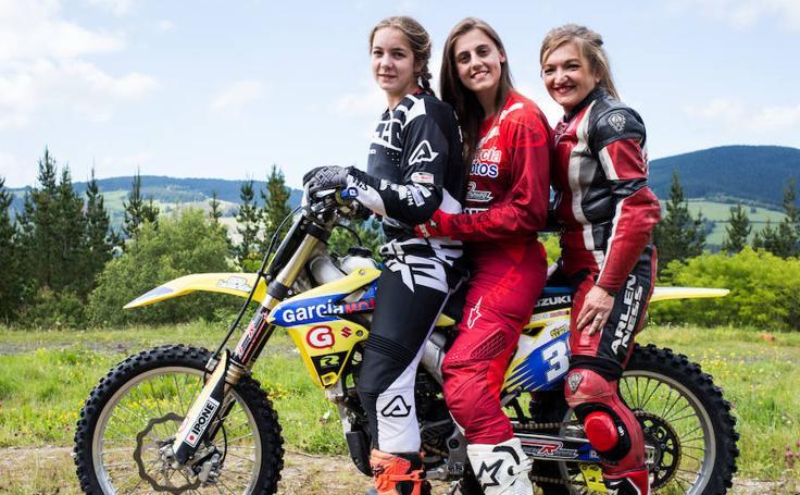 Tres vidas sobre una moto