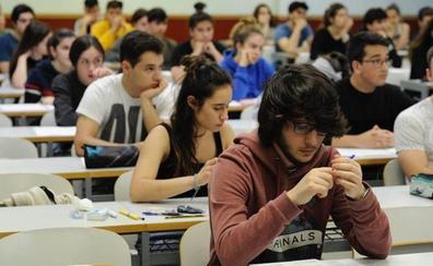 1.367 estudiantes se enfrentan desde hoy a la Selectividad extraordinaria
