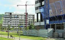 La vivienda nueva repunta un 2,5% en un año en Vitoria y se revaloriza un 17% desde la crisis