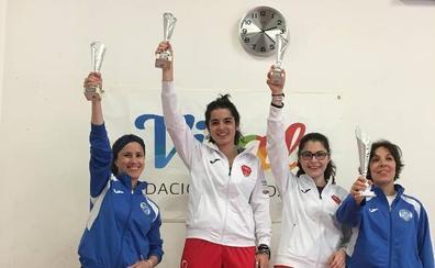 María Ascasso se impone en el campeonato de Euskadi