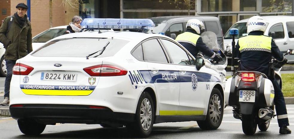 Dos jóvenes detenidos por robar en comercios del Ensache vitoriano