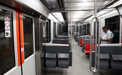Metro Bilbao eliminará los asientos abatibles en los trenes de 4 coches
