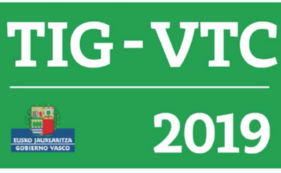 Los vehículos VTC que operan en Euskadi tienen dos meses para colocar los nuevos distintivos