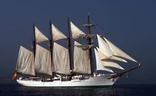 El 'Juan Sebastián Elcano' homenajeará en San Juan de Gaztelugatxe a los marineros que han perdido la vida