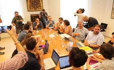 PSN, Geroa Bai, Podemos e I-E encauzan un acuerdo en Navarra que confían en cerrar este viernes