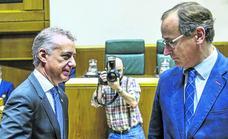 El PP mantendrá el pulso fiscal con PNV y PSE por el Presupuesto