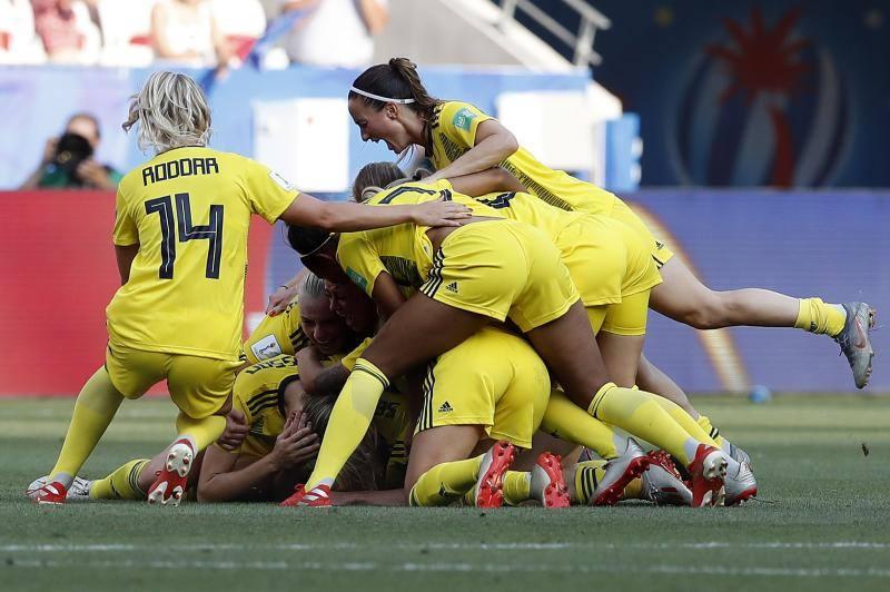 Suecia consigue el bronce tras vencer a Inglaterra
