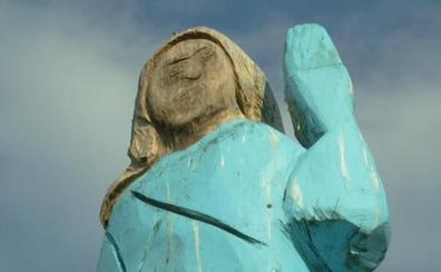 La escultura de Melania Trump en Eslovenia, ¿un nuevo 'Ecce Homo'?