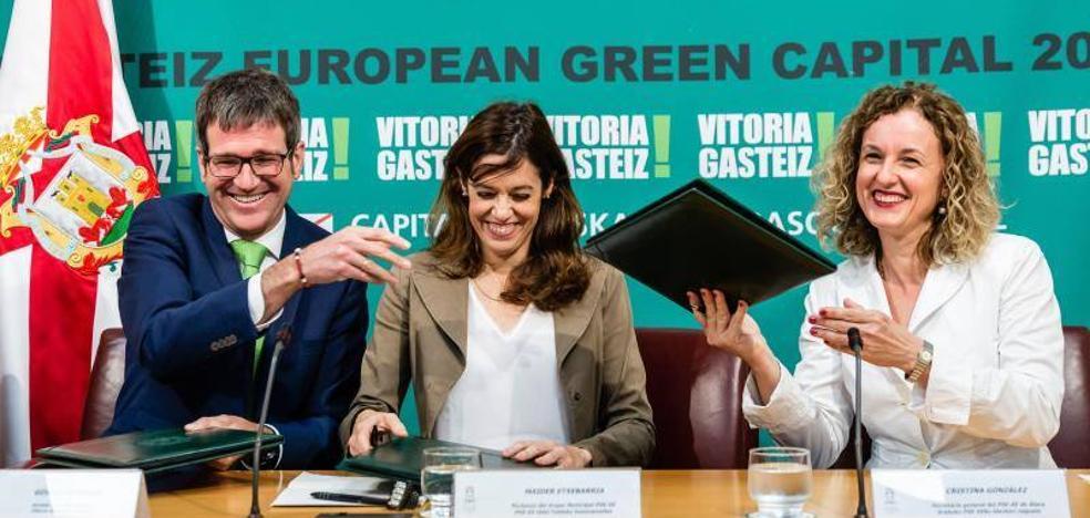 Vitoria fija el nuevo Auditorio, la reforma del Principal y el soterramiento como sus prioridades