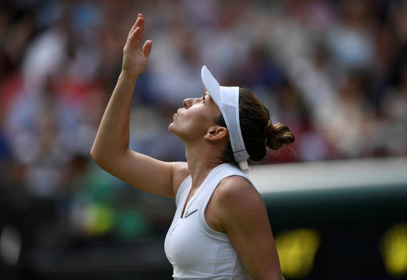 Simona Halep pone fin a la aventura de Coco Gauff en Wimbledon