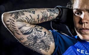 Los tatuajes de la gloriosa Andrea Tovar: fútbol, familia y fe