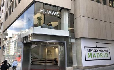 Así es la mayor tienda Huawei del mundo, abierta en Madrid