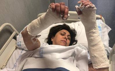 Rosa García, consejera delegada de Alibérico: «Desconectada porque me he roto las dos muñecas»
