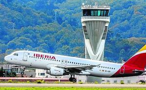 Aviones más grandes para unir Bilbao y Madrid