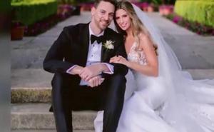 Pau Gasol y Catherine McDonnell publican la primera imagen de su boda