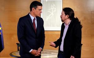 La creciente tensión entre Sánchez e Iglesias acerca la repetición de elecciones
