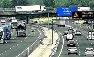 Álava desdoblará el 'nudo' de Armiñón para asumir el aumento de tráfico en la AP-1