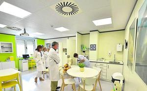 El hospital de Cruces humaniza la sala de descanso y duelo de Oncología