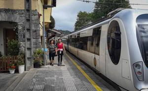 Euskotren moderniza los andenes y mejora la movilidad del ramal de Urdaibai