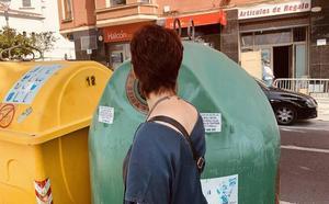 Basauri promueve el reciclaje de vidrio entre los hosteleros