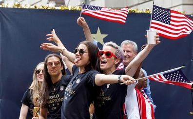 Nueva York recibe con un baño de masas a las campeonas del mundo