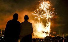 Fuegos artificiales La Blanca 2019 Vitoria: programacion y pirotecnias