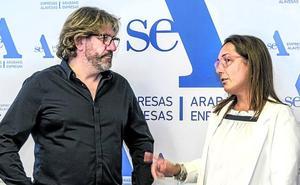 Elena Martín y Juan Carlos Antolín presidirán la patronal hostelera alavesa