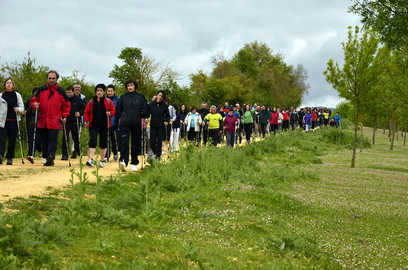 Valdegovía espera 300 participantes en la fiesta Nordic Walking de mañana
