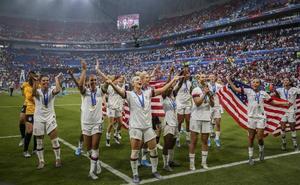 La final del Mundial femenino batió récords de audiencia por todo el mundo