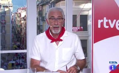 La polémica intervención de la voz de los encierros de TVE sobre 'La Manada': «Fue un accidente»