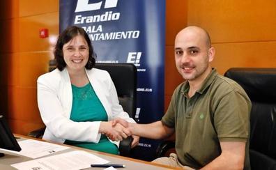 PNV y PSE reeditan el acuerdo de gobierno en el Ayuntamiento de Erandio