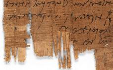 Un papiro egipcio del año 230 d.c. resulta ser la carta cristiana más antigua conocida