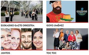 Programa del Teatro Campos Elíseos de Bilbao en Aste Nagusia 2019