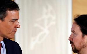 Sánchez se abre ahora a incorporar al Gobierno a «militantes de Podemos»