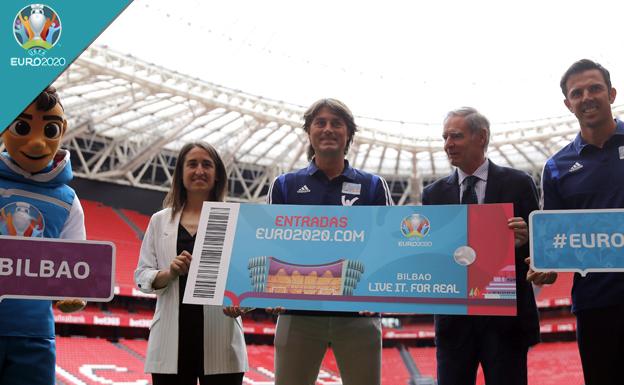 Últimas horas para reservar entradas para la Eurocopa de Bilbao