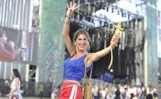 A Rosalía la quieren bien en el Bilbao BBK Live