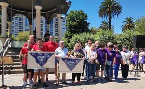 Los homenajes a la Casa Galicia y al movimiento cuadrillero marcan el inicio de las fiestas de Santurtzi