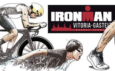 Javi Pérez, triatleta: «El Ironman es una fiesta a lo grande»