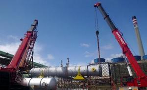 Petronor sustituye un cambiador para reducir sus emisiones de CO2 en 5.500 toneladas