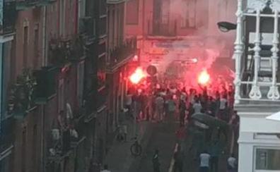 Bengalas y corte de tráfico en San Francisco por la victoria de Argelia