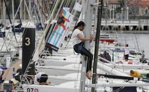 Así se preparan las tripulaciones para el Mundial de clase J80 de vela